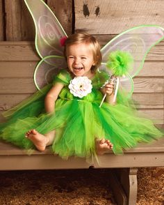 Tinkerbell Tutu Dress Halloween Costume