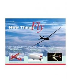 ACTIVITY   How Things Fly Teaching Poster; Classroom and gallery activities in this guide prepare students for a visit to the How Things Fly gallery, an interactive exhibition on the physics of flight. Topics include air pressure, gravity, and buoyancy; Grades 4–8; PDF.