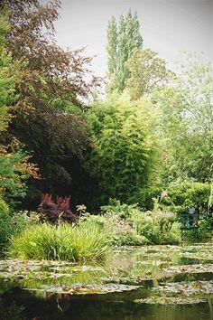 Blüten und mehr, inspiriert von Claude Monets Garten