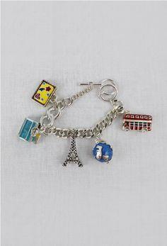 Euro Fun Charm Bracelet