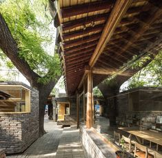 2016 Aga Khan Award for Architecture Winners Announced,Hutong Children's Library and Art Centre / ZAO / standardarchitecture / Zhang Ke. The project is designed to be a communal children's reading room and art centre, free and open to the neighbourhood. Image © AKTC / Zhang MingMing, ZAO, standardarchitecture