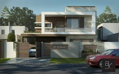 10 Marla House at Bahria Town Lahore Contemporary Cottage, Contemporary Apartment, Contemporary Architecture, Architecture Design, Contemporary Building, Kitchen Contemporary, Contemporary Landscape, Contemporary Bedroom, Contemporary Furniture