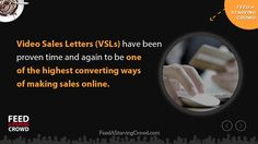"http://FeedAStarvingCrowd.com - Learn how content marketing using video sales letters can help you double or even triple your conversion rates by triggering emotions that lead to sales - over and over again!  This is an excerpt from the new book ""Feed A Starving Crowd"". You can get 200+ other tips in finding a hungry market completely free by visiting http://FeedAStarvingCrowd.com"