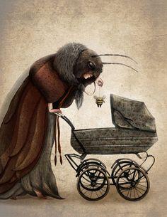 emiis: Illustration about children's dreams :) Emilia Dziubak