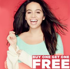 rue21 : Buy 1, Get 1 Free on Sweaters and Outerwear  http://www.mybargainbuddy.com/rue21-buy-1-get-1-free-on-sweaters-and-outerwear