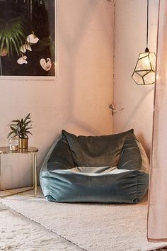 Urban Outfitters Cooper Velvet Lounge Chair | #afflink