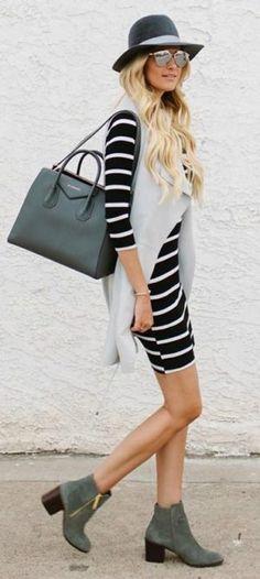 d3e0644557e Outfits con los que te animarás a usar chalecos largos