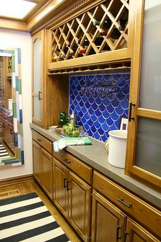 Concrete over your laminate countertops!  Product used:  Ardex Feather Finish   brief tutorial on this page...