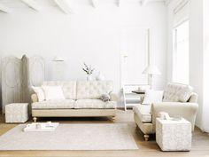 Romance bank, loveseat én hocker ontworpen door ariadne at Home en gemaakt door Meubi Trend