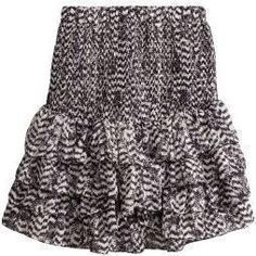 Blake Lively wearing Isabel Marant For H&M Tiered Skirt in Mulberry Silk Chiffon.