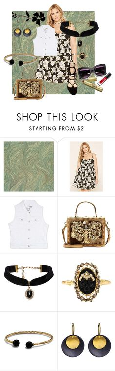 There's No Place For Us by pj-cox on Polyvore featuring Forever 21, Rhythm in Blues, Dolce&Gabbana, David Yurman, Hissia, Alexis Bittar, Marc Fisher and forever21plus
