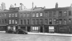 Nos 47–57 Mount Pleasant (left to right) in 1947