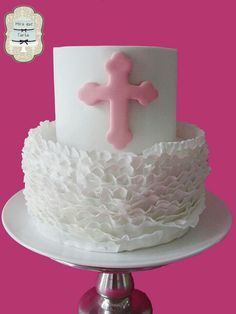 MIRA QUE TARTA BAPTISM CAKE