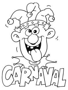 die 8 besten bilder von ausmalbilder fasching | carnival