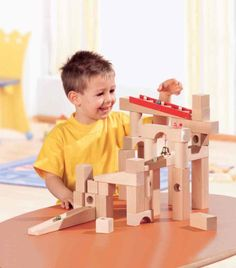Marble Runs - HABA Ball Track Large Basic Set  42 Piece Wooden Marble Run for Beginner to Expert Architects Ages 3 to 10 Made in Germany ** You can find more details by visiting the image link.