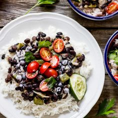black beans + rice with coconut cream plate (3 of 3)