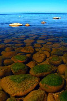 In Summer, Lake Baikal, Siberia Russia