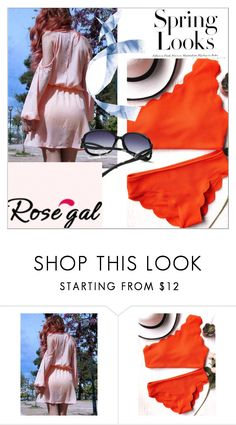 """""""Bikini contest"""" by togetherforever15 ❤ liked on Polyvore featuring H&M"""