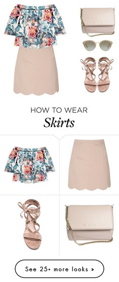 """""""tropical chic"""" by elliedella on Polyvore featuring Glamorous, Elizabeth and James, Gianvito Rossi, Miu Miu, Givenchy, tropicalprints and hottropics"""