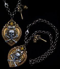 """EX VOTO NECKLACE"" by Francesca Dani #jewels #jewelry #handmade"