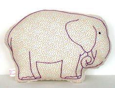 Elephant Nursery Pillow / New Baby Gift / Elephant by LoveTheBaby