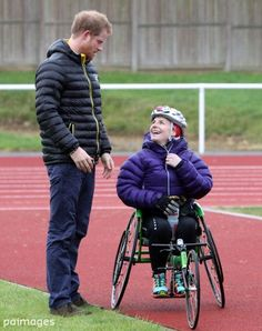 """  Prince Harry attends the UK team trials for the... - Prince Henry Updates"