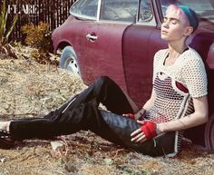 """Is Our New Grimes Cover Story Her """"Last Interview Ever?"""" - Pop music's prickly punk princess and producer extraordinaire Claire Boucher gives Kaitlin Fontana what she says is one of her last interviews ever—and makes it count - FLARE"""