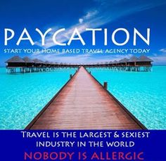 Become a Certified Travel Agent online for $79 and get paid to travel and see the world! How does writing off a family vacation as a tax deduction sound? That is just one of the many perks of being a Travel Agent. Work from home, your own hours and be your own boss. Book vacations for pennies on the dollar, share those deals with friends, and make a lot of money in the luxurious and lucrative travel industry. Visit www.julie.paycation.com and join today!