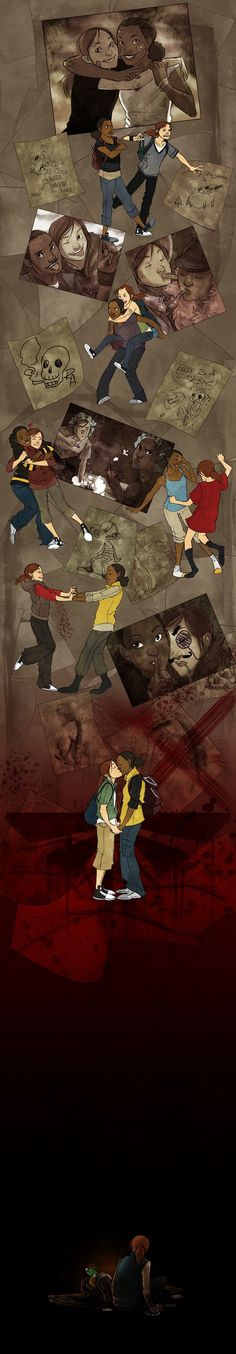 Ellie and Riley From The Last of Us Get A Lovely Illustrated Tribute
