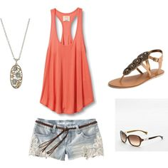 SUMMER! Love the shorts.. from target! Just bought them recently :-))