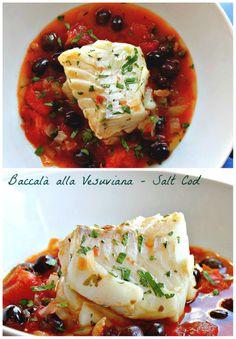 A Michelin star dish right in your kitchen - Baccalà alla Vesuviana (salt cod).