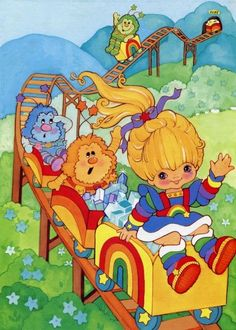 cartoon coloring pages - Childhood Characters, Cartoon Characters, Vintage Cartoon, Vintage Toys, Cartoon Costumes, 80 Cartoons, Rainbow Brite, Classic Cartoons, Character Costumes
