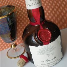 Homemade Amaretto