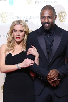 EE British Academy Film Awards 2016 (BAFTAs) held at Royal Opera House - Press Room Featuring: Kate Winslet, Idris Elba Where: London, United Kingdom When: 14 Feb 2016 Credit: Lia Toby/WENN.com