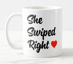 Shop She Wiped Right Mug created by TheDigitalConsultant. Create Your Own, Create Yourself, Mugs For Sale, Mug Designs, Photo Mugs, Microwave, Funny Jokes, Dishwasher, Coffee Mugs