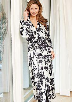 39536a8094 Ariadne Silk Print Robe on sale now through 11 12.