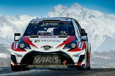 Toyota is back in the WRC after a 17 year absence, and are competing in the 2017 Rallye Monte Carlo with driver and co driver Jari-Matti Latvala and Juho Hänninen. Super Sport Cars, Super Cars, Monte Carlo, Best Reliable Cars, Nascar, Rallye Wrc, Stock Car, Japanese Cars, Nissan Skyline