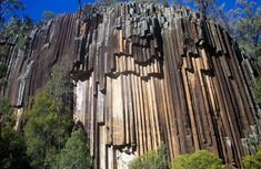 Sawn Rocks, Mt Kaputar National Park, New South Wales, Australia Basalt Rock, Rock Formations, Rocks And Minerals, The Rock, Geology, Wonders Of The World, Natural, National Parks, Around The Worlds