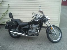 This is my bike with the new bags I just put on today.