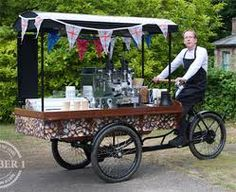 No 1 Delicatessen & Cafe - food served all day, freshly ground coffee, great selection of jams, chutneys, cheeses & fresh bread.  Not forgetting the famous coffee trike to be found in the Country Park on fine days. This idea communicates fresh quality!!!!!