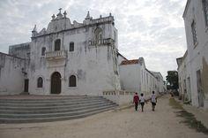 Old Catholic church on the Ilha de Mozambique.