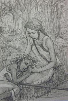 Rue's death by Burdge