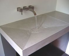 Love this concrete sink