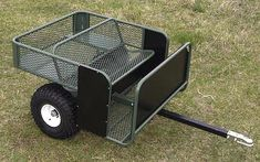 New PakRat ATV Carts Offer Comfort, Safety, High Capacity: ATV & UTV : The Pak-Rat cart uses a cool expanded mesh bench seat to carry one or two hunters, with optional Quad Trailer, Trailer Build, Utility Trailer, Welding Trailer, Work Trailer, Metal Projects, Welding Projects, Welding Art, Rzr 1000