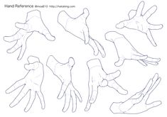 """teamtrashcan: """"Hands Tutorials for Those Who Hates Drawing Them"""" Original can be found on Pixiv, I just translated it. I figured it can be helpful to some. Here's a combined version for those who prefer one giant tutorial. Hand Drawing Reference, Drawing Reference Poses, Anatomy Reference, Drawing Poses, Drawing Tips, Drawing Anime Hands, Human Figure Drawing, Anatomy Art, Anatomy Drawing"""