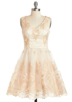 *sold* 30 glitters- Might consider swapping if its a wedding type of dress...size UK 26 US maybe 22? You've Got Sparkle Dress by Chi Chi London - Cream, Gold, Embroidery, Special Occasion, Prom, A-line, Sleeveless, Summer, Woven, Better, V Neck, Lace, Tulle, Long, Full-Size Run