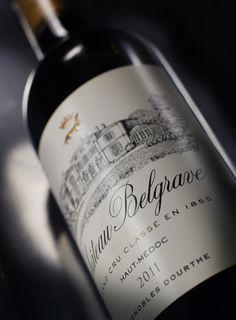 Château Belgrave, Grand Cru Classé Haut-Médoc et Vignoble Dourthe, millésime 2011 - www.dourthe.com
