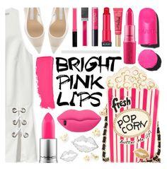 Pink Lips by pastelneon on Polyvore featuring polyvore beauty Chanel MAC Cosmetics Almay tarte Butter London Sisley STELLA McCARTNEY Stella Valle Betsey Johnson Rebecca Minkoff Off-White Pink Beauty makeup pinklips