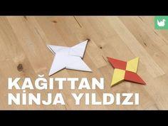 Kağıttan YILDIZ yapımı, Türkçe anlatım, origami yıldız yapımı - YouTube