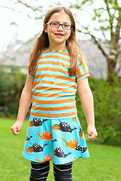Kids Clothes Week: Tangerine and Turquoise